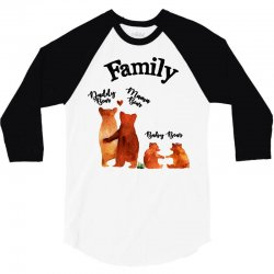family bears 3/4 Sleeve Shirt | Artistshot