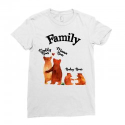 family bears Ladies Fitted T-Shirt | Artistshot