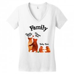 family bears Women's V-Neck T-Shirt | Artistshot