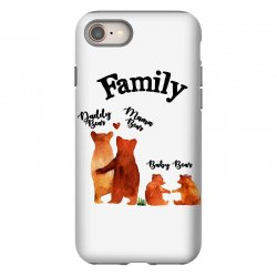 family bears iPhone 8 Case | Artistshot