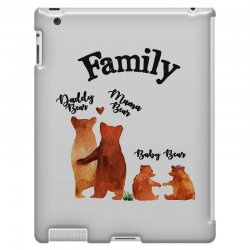 family bears iPad 3 and 4 Case | Artistshot
