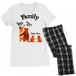 family bears Women's Pajamas Set | Artistshot