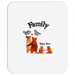 family bears Mousepad | Artistshot