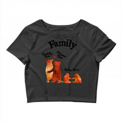 family bears Crop Top | Artistshot