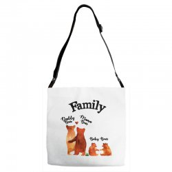 family bears Adjustable Strap Totes | Artistshot