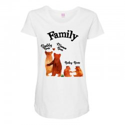 family bears Maternity Scoop Neck T-shirt | Artistshot