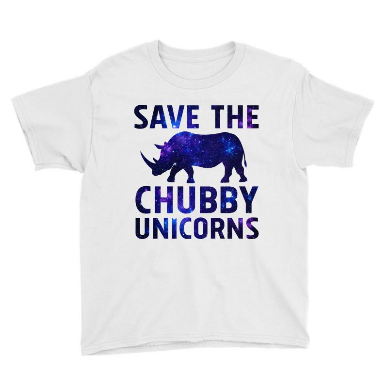 c1e333b7da9da9 Custom Save The Chubby Unicorn Galaxy Youth Tee By Sengul - Artistshot