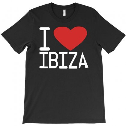 I Love Ibiza Club Party Dj Music Retro Cool T-shirt Designed By Ancart