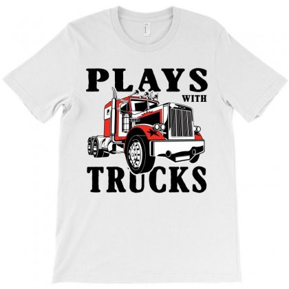 Plays With Trucks Family Matching Flip T-shirt Designed By Akin