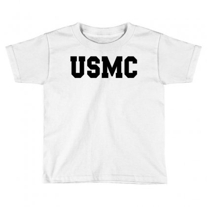 Usmc - Military Army Patriot America United States Toddler T-shirt Designed By Meza Design