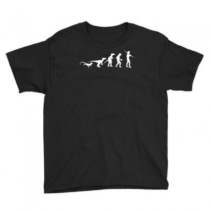 Icke Evolution Youth Tee Designed By Ancart