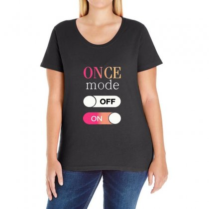 Once Mode Ladies Curvy T-shirt Designed By All