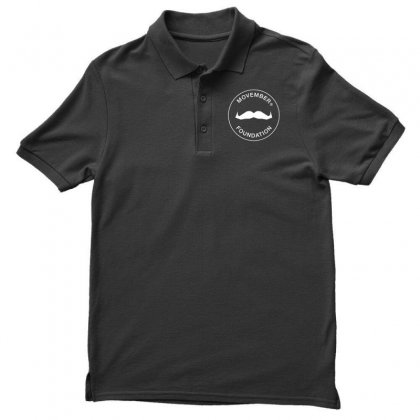 Movember Foundation Men's Polo Shirt Designed By Yellow Star