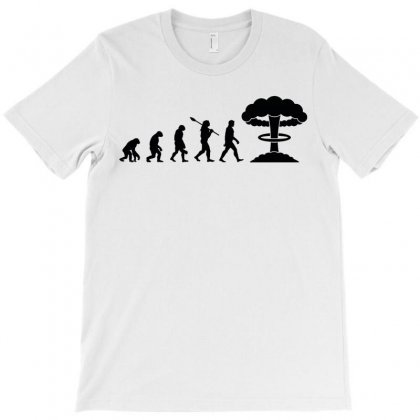 Evolution Of Nuclear T-shirt Designed By Akin