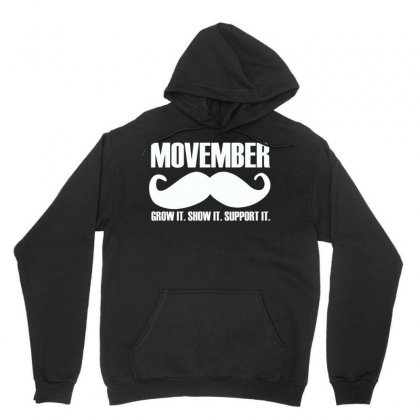 Movember Unisex Hoodie Designed By Yellow Star