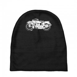 indian scout motorcycle Baby Beanies   Artistshot