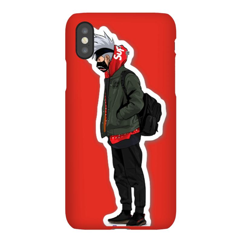 3bc63abe448b Custom Supreme Kakashi Iphonex Case By All - Artistshot