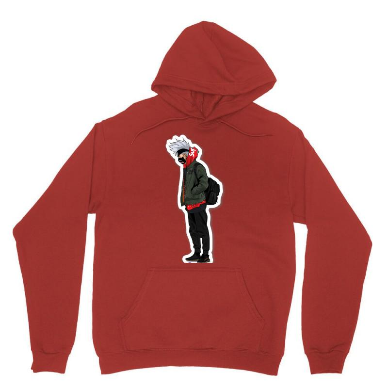 671fae800264 Custom Supreme Kakashi Unisex Hoodie By All - Artistshot