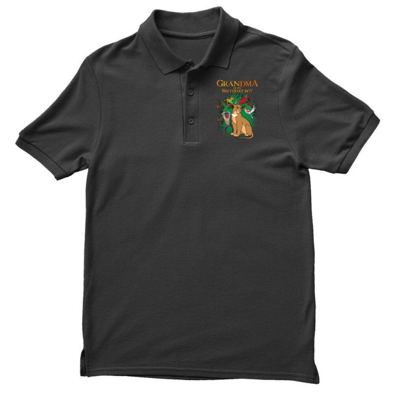 Lion King Grandma Of The Birthday Boy Polo Shirt