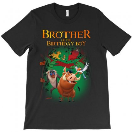 Lion King Brother Of The Birthday Boy T-shirt Designed By Sengul