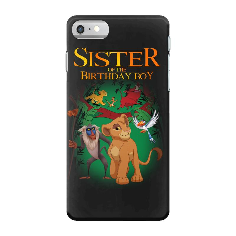 Lion King Sister Of The Birthday Boy Iphone 7 Case. By Artistshot