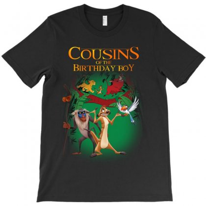 Lion King Cousins Of The Birthday Boy T-shirt Designed By Sengul