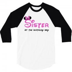 disney family sister 3/4 Sleeve Shirt | Artistshot