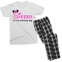 disney family sister Men's T-shirt Pajama Set | Artistshot
