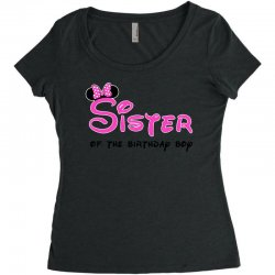 disney family sister Women's Triblend Scoop T-shirt | Artistshot
