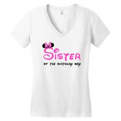 disney family sister Women's V-Neck T-Shirt | Artistshot