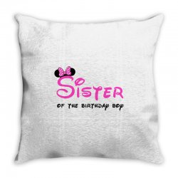 disney family sister Throw Pillow | Artistshot