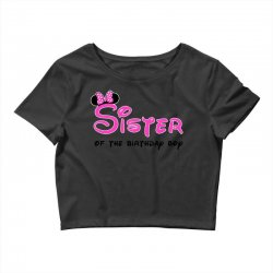 disney family sister Crop Top | Artistshot