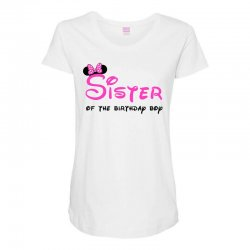 disney family sister Maternity Scoop Neck T-shirt | Artistshot