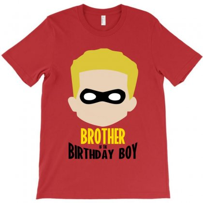 The Incredibles Brother Of The Birthday Boy T-shirt Designed By Nurbetulk
