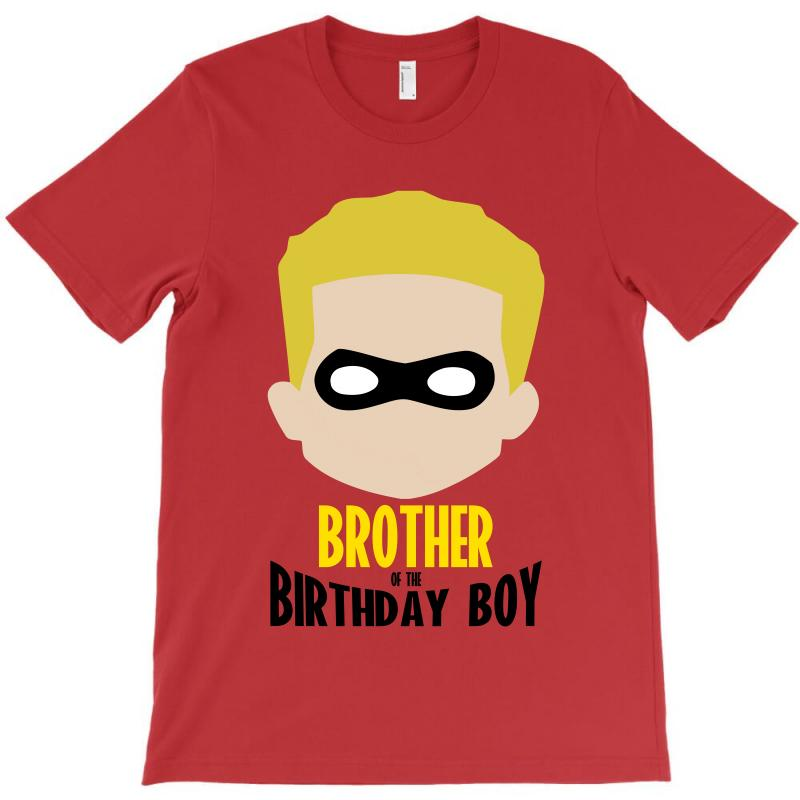 Custom The Incredibles Brother Of The Birthday Boy T Shirt By