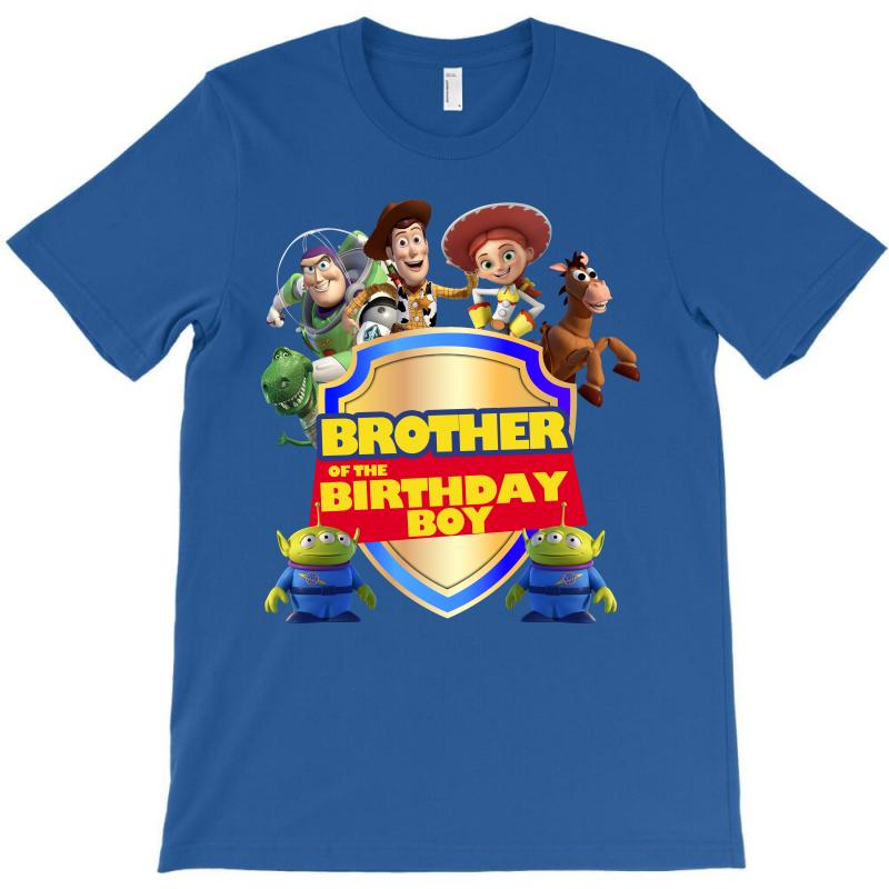 Toy Story Brother Of The Birthday Boy T Shirt