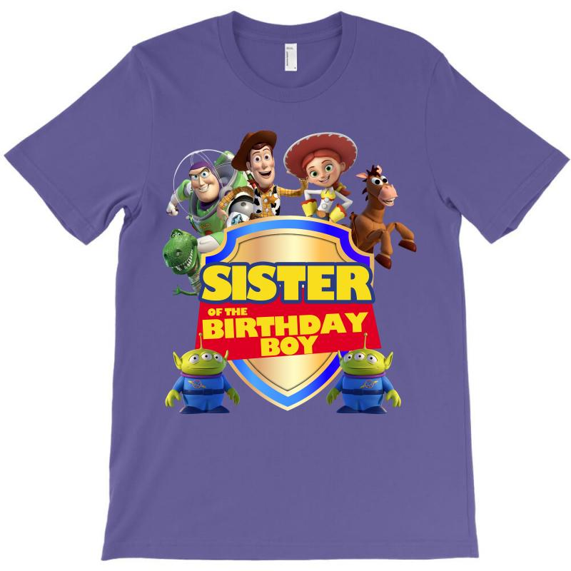Toy Story Sister Of The Birthday Boy T Shirt