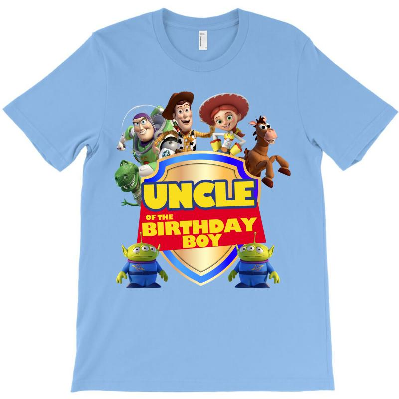 Toy Story Uncle Of The Birthday Boy T Shirt