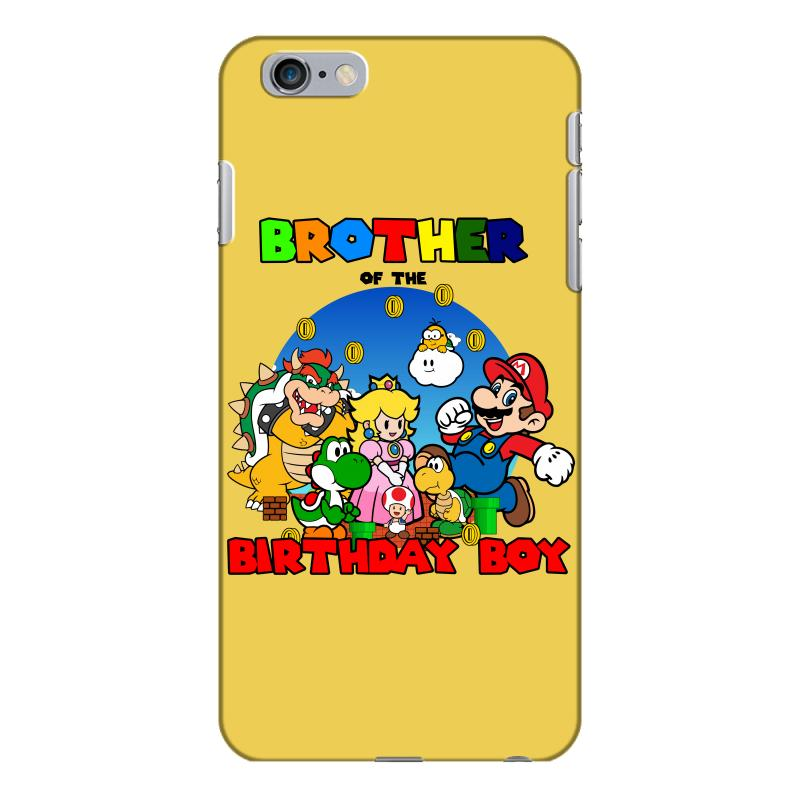 Super Mario Brother Of The Birthday Boy Iphone 6 Plus/6s Plus Case. By Artistshot