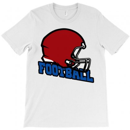 Helmet Football T-shirt Designed By Igun