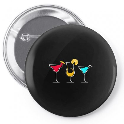 Cocktail Party Pin-back Button Designed By Igun