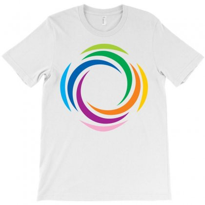 Abstract Colorful T-shirt Designed By Igun