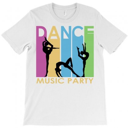 Music Dance T-shirt Designed By Igun