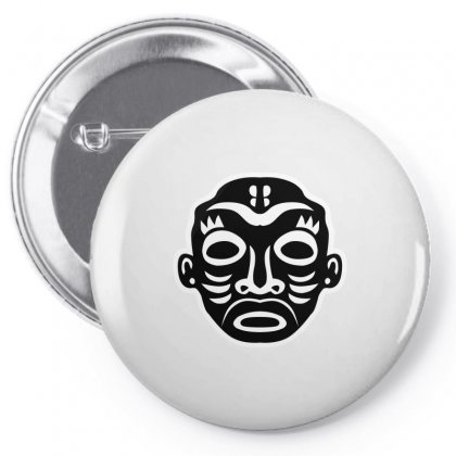 Black And White Pin-back Button Designed By Igun