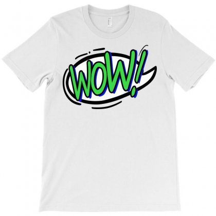 Wow T-shirt Designed By Igun