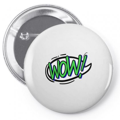Wow Pin-back Button Designed By Igun