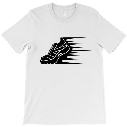 Speeding Shoes2 T-shirt Designed By Igun