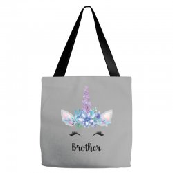 birthday unicorn family series brother Tote Bags | Artistshot