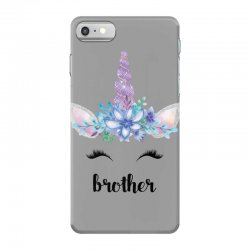 birthday unicorn family series brother iPhone 7 Case | Artistshot
