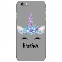 birthday unicorn family series brother iPhone 6/6s Case | Artistshot